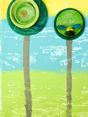 Spring and Summer Trees Amy A. Crawley, 2013