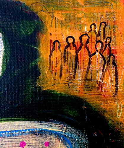 Spirits gathering